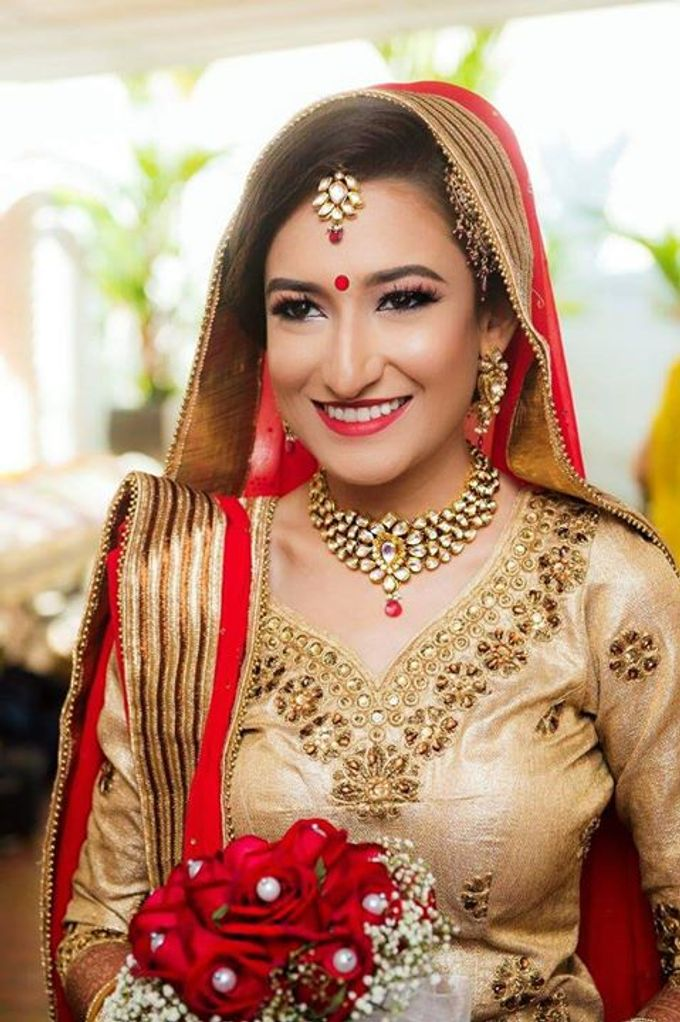 Add To Board Indian Bridal Makeup Artistry By BLUSH Beauty Beyond