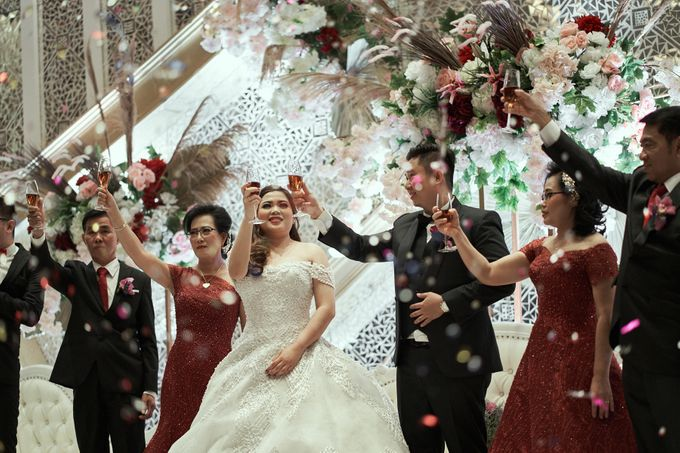 WEDDING OF WELLY & MARIA by Novotel Tangerang - 018