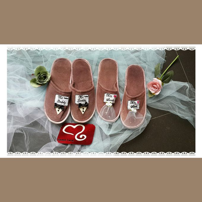 Wedding Slippers by Sweetlovecollection - 003