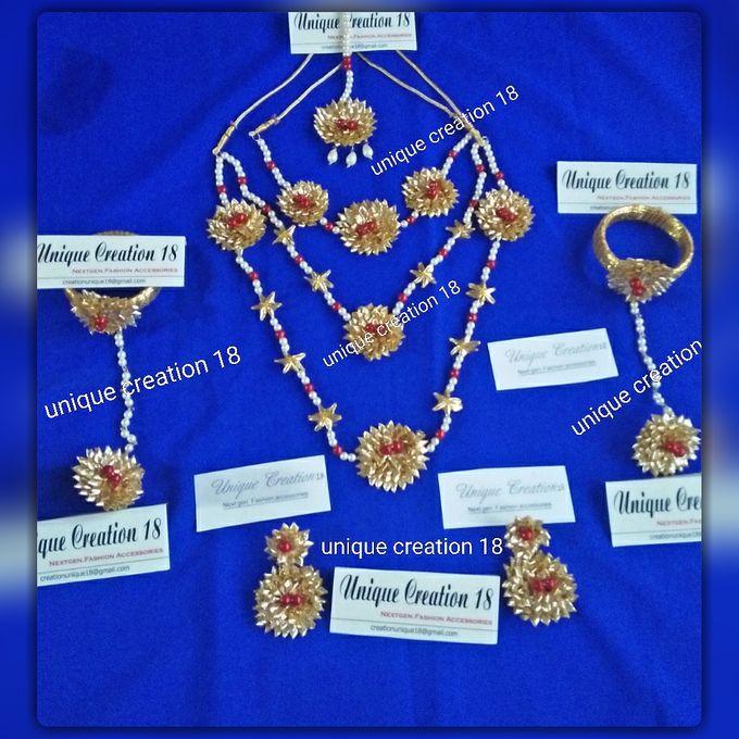 Handmade Gota Jewellery by Unique Creation 18 - 002