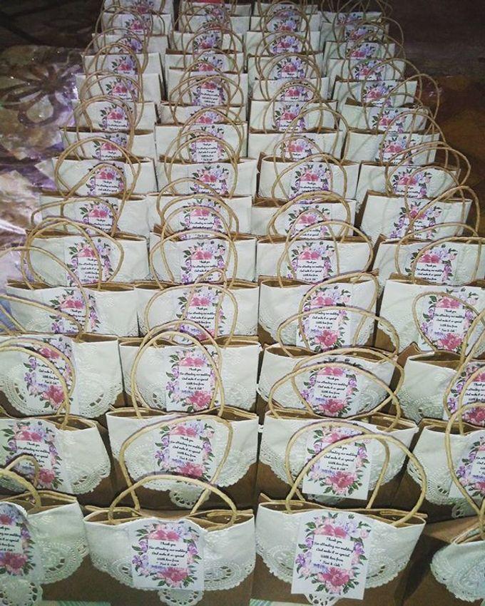 Pouch Katun 18x10cm With Mini Paper Bag by Rumah Souvenir - 003