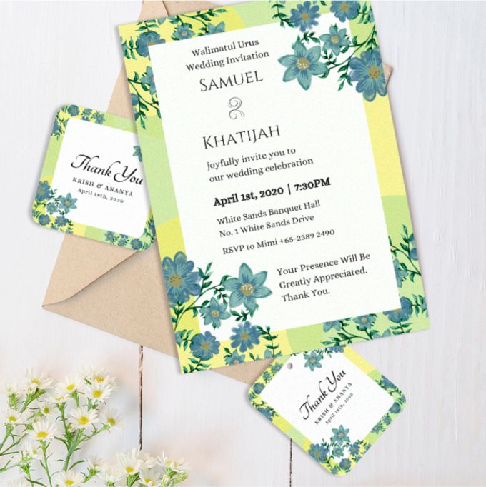 Wonderland Wedding Invitation by Gift Elements - 001