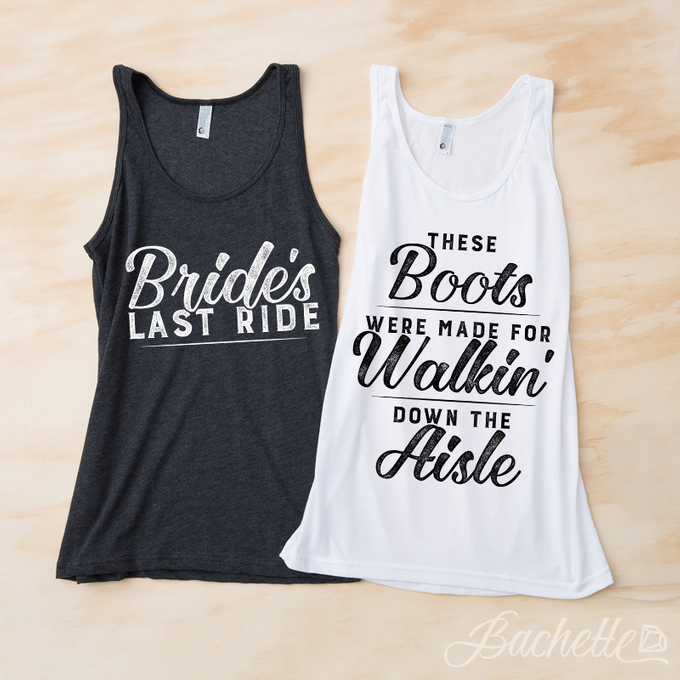 Our Most Popular Bachelorette Party Tank Tops by Bachette - 006