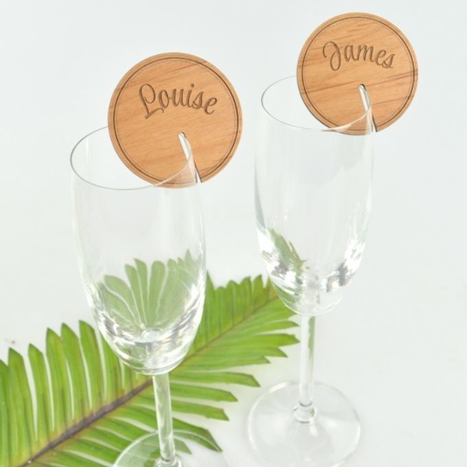 Personalized Wood Wedding Gifts by Personalized Favors - 002