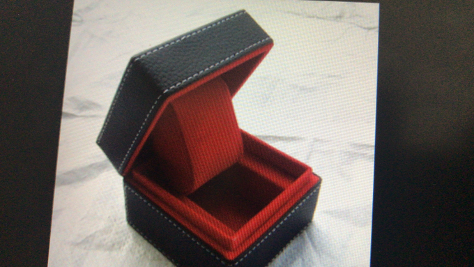 Jewellery and wedding ring box by Woodsmith Box Kayu - 005