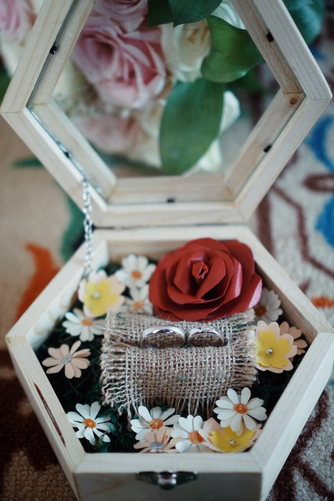 Jewellery and wedding ring box by Woodsmith Box Kayu - 012
