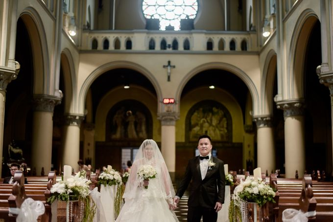 The Wedding of  Efeline & Fion by Bondan Photoworks - 036