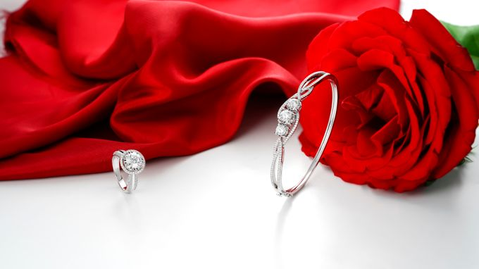 Rose D Amour Collection GIA and GemEx Certified by Adelle Jewellery - 001