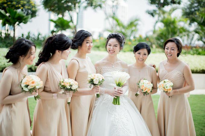 Grace Wedding. Natural & Korean Style Make Up by Marsia Yulia Signature. Natural and Korean Make Up Specialist. - 003