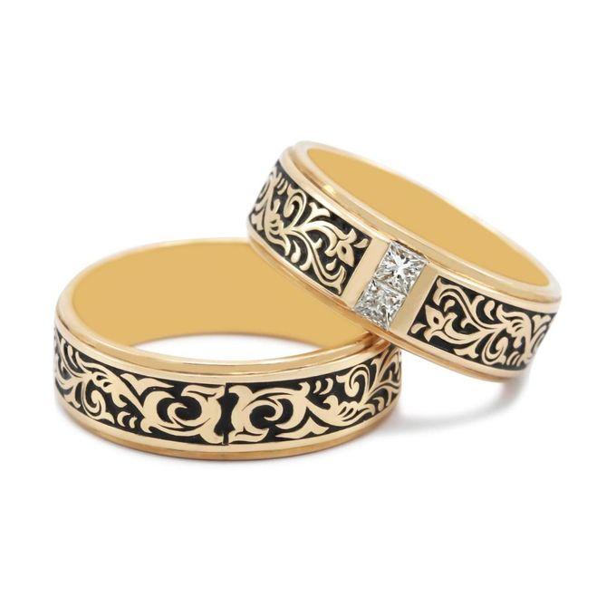 Wedding Ring Batik WRB0006 by V&Co Jewellery - 002