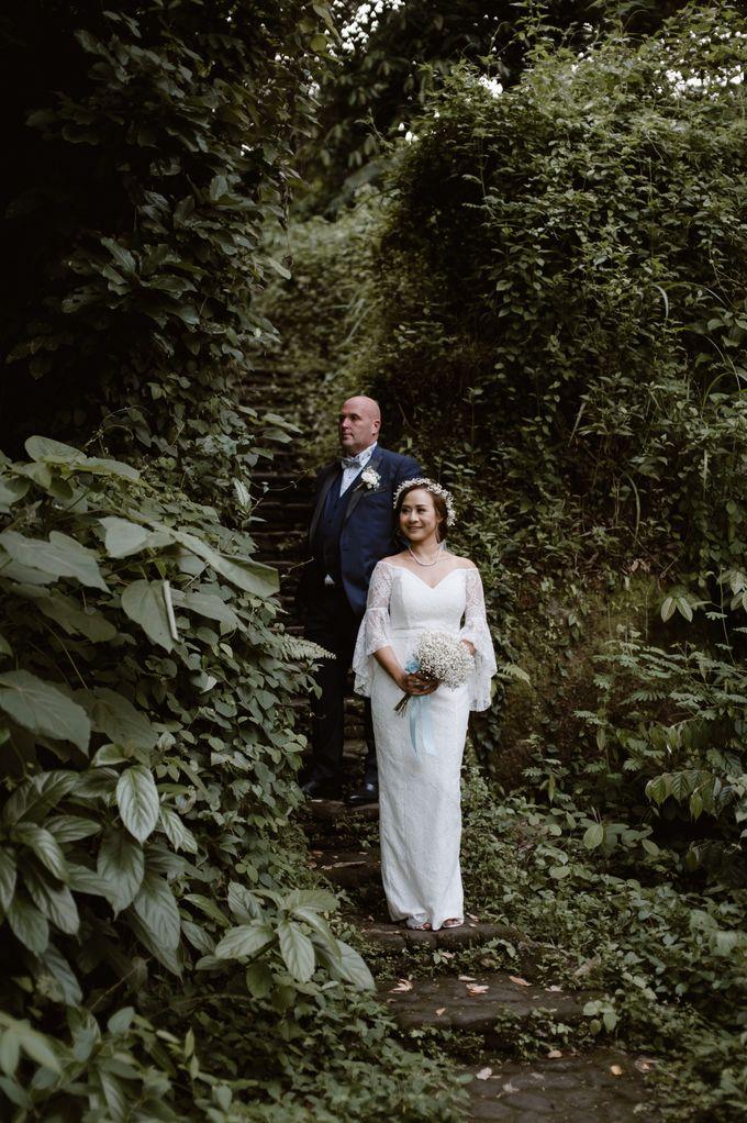 Brett & Belinda Wedding by Sthala, A Tribute Portfolio Ubud Bali by Marriott International - 021
