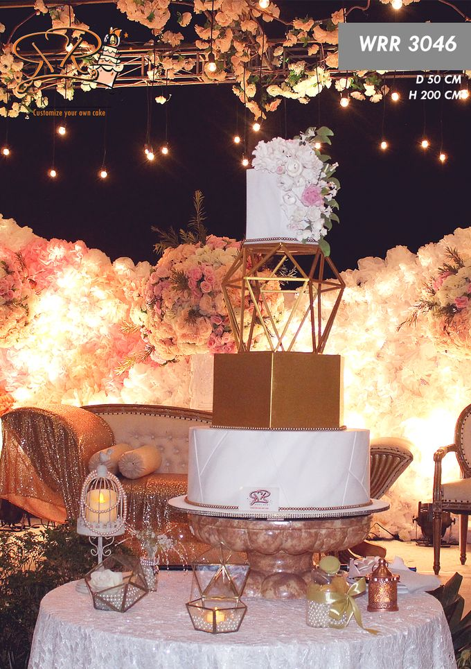 Wedding Cake 2019 by RR CAKES - 001