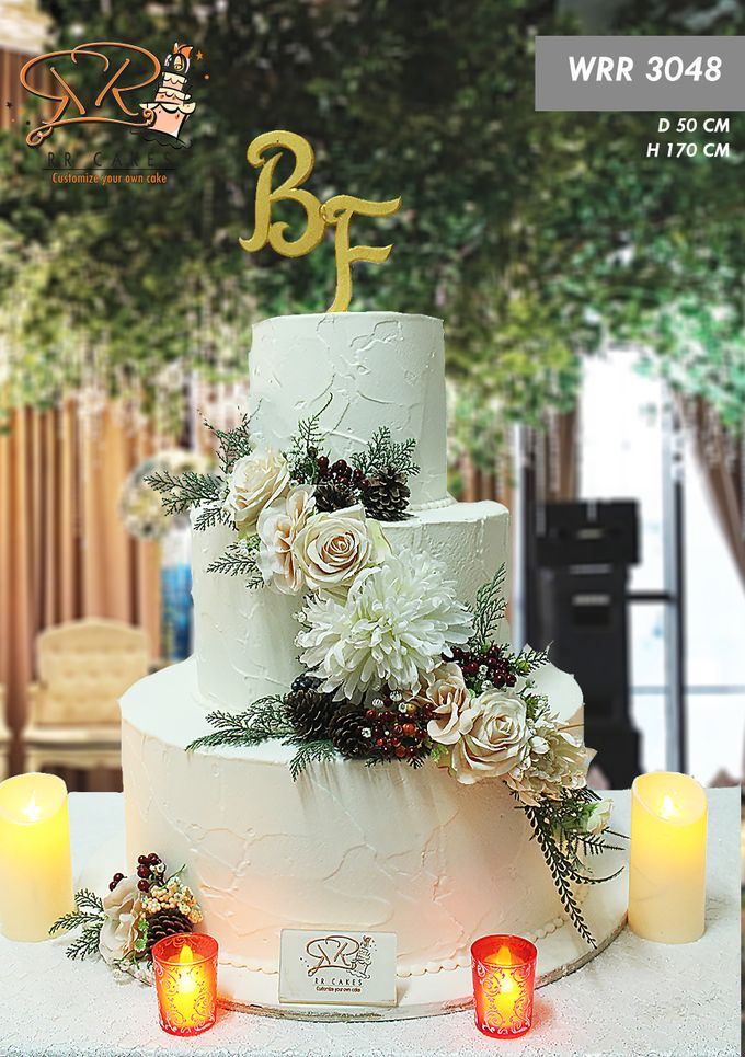 Wedding Cake 2019 by RR CAKES - 003