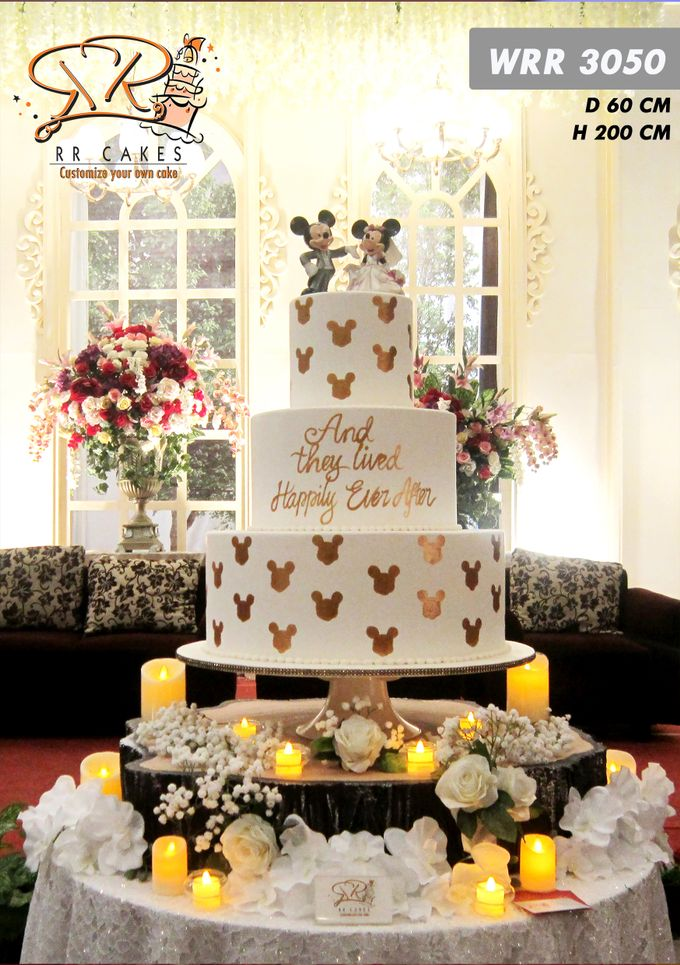 Wedding Cake 2019 by RR CAKES - 005
