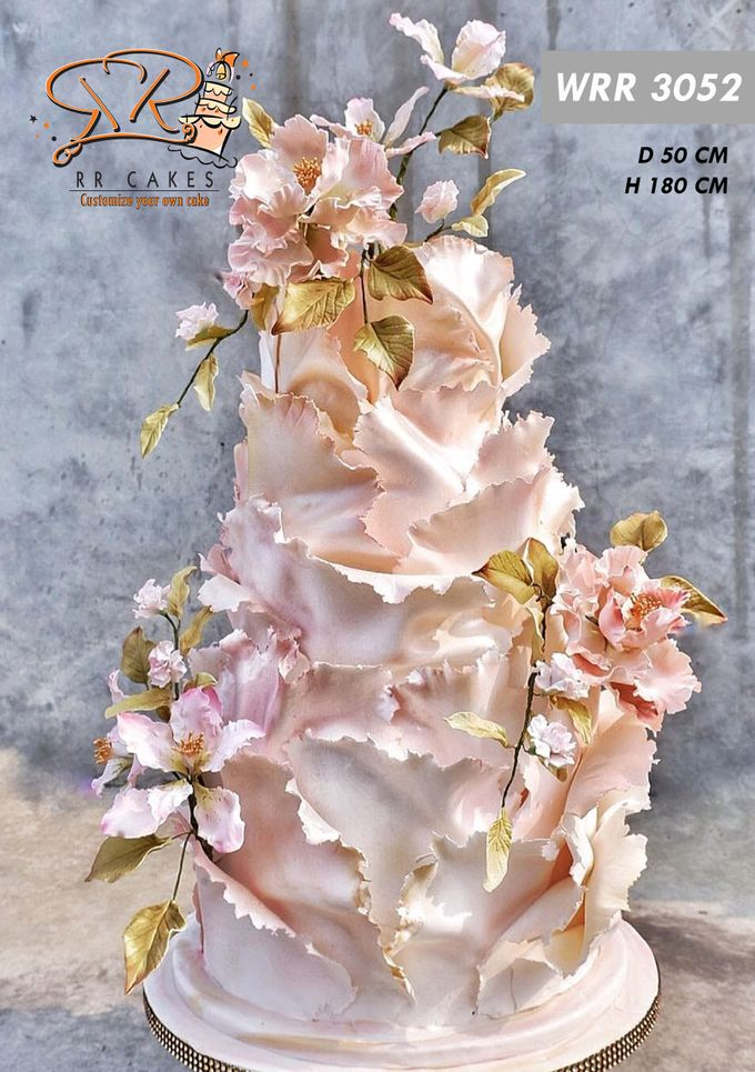 Wedding Cake 2019 by RR CAKES - 004