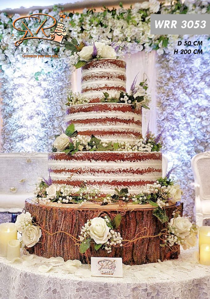 Wedding Cake 2019 by RR CAKES - 006