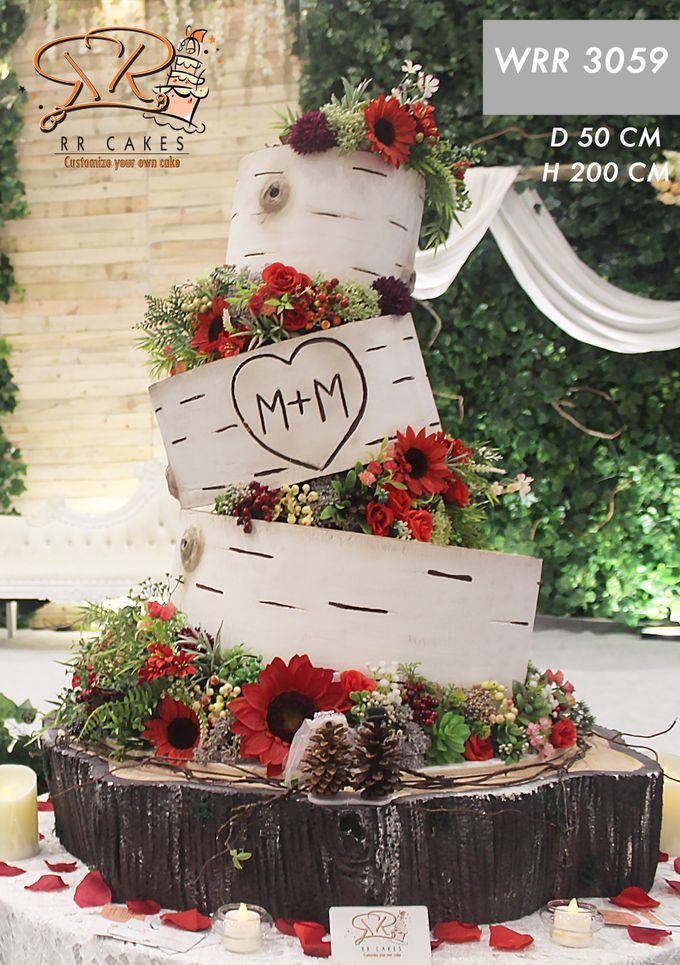 Wedding Cake 2019 by RR CAKES - 008