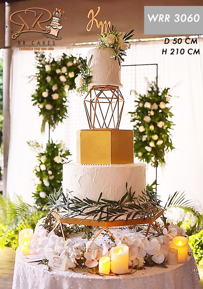 Wedding Cake 2019 by RR CAKES - 009