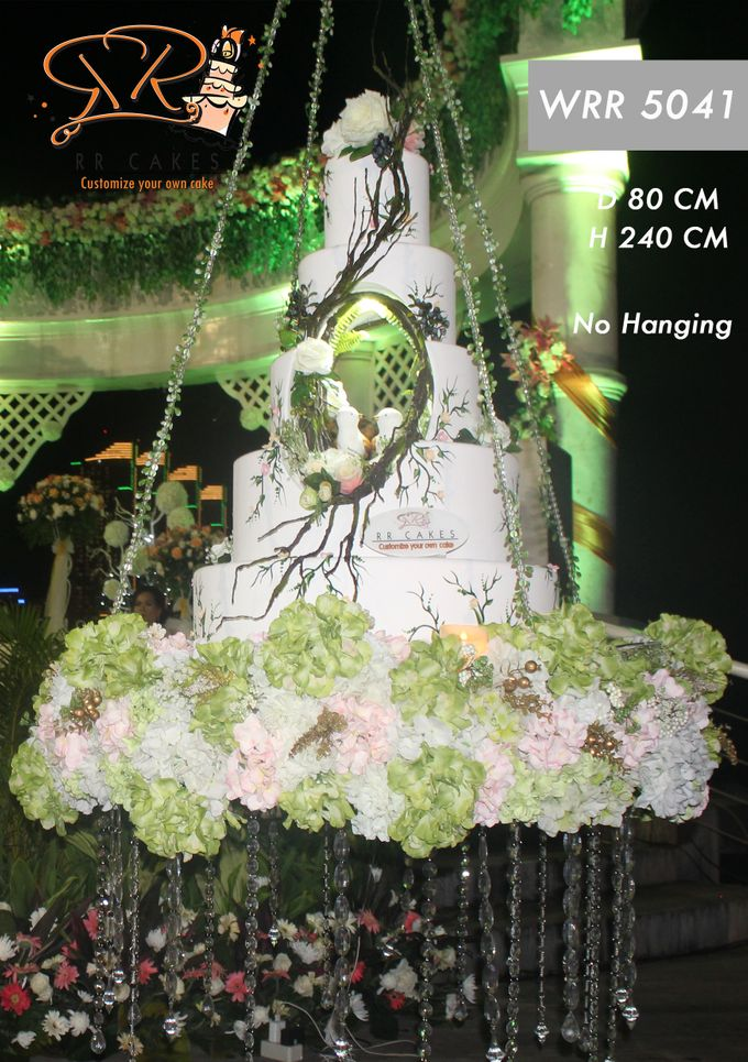 New Wedding Cake 2018 by RR CAKES - 004