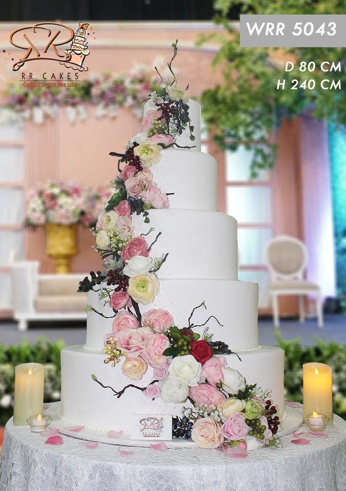 New Wedding Cake 2018 by RR CAKES - 005