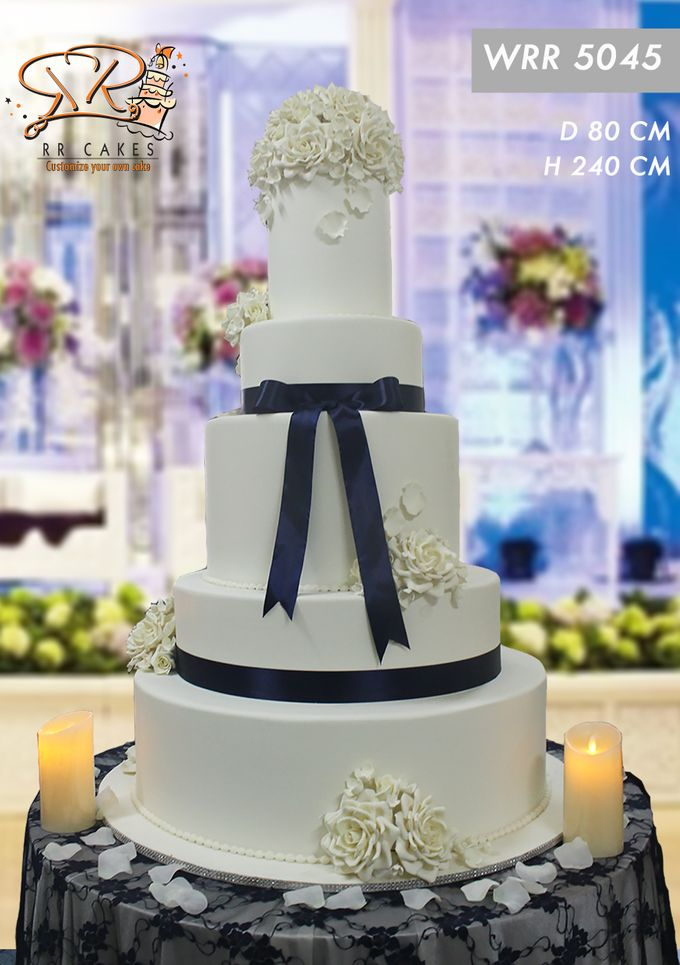 New Wedding Cake 2018 by RR CAKES - 006