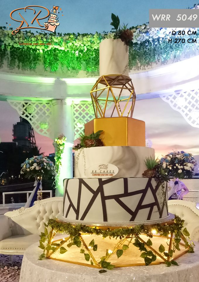 New Wedding Cake 2018 by RR CAKES - 008