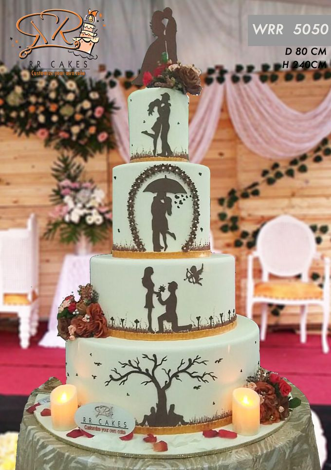 New Wedding Cake 2018 by RR CAKES - 007
