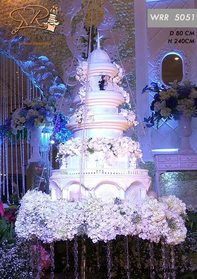New Wedding Cake 2018 by RR CAKES - 009