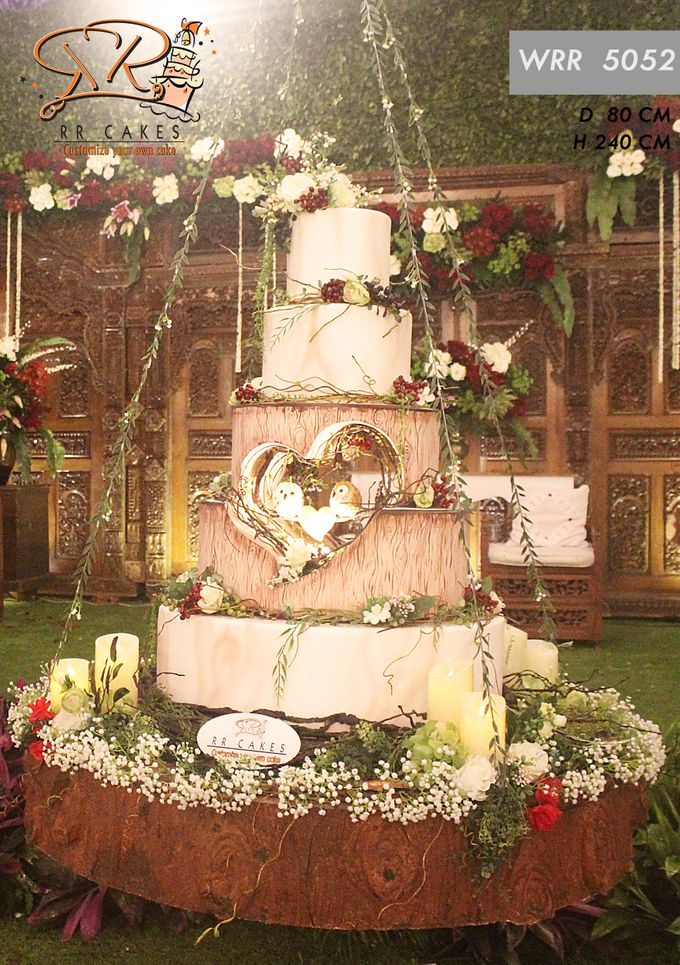 New Wedding Cake 2018 by RR CAKES - 010