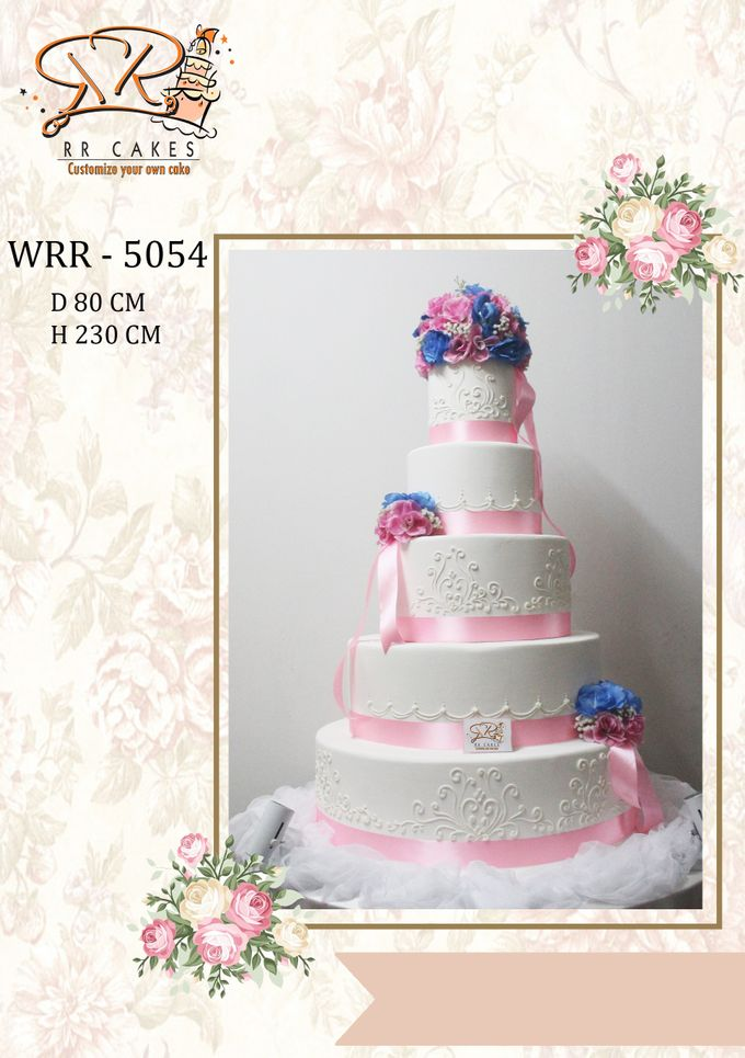 New Wedding Cake 2018 by RR CAKES - 012