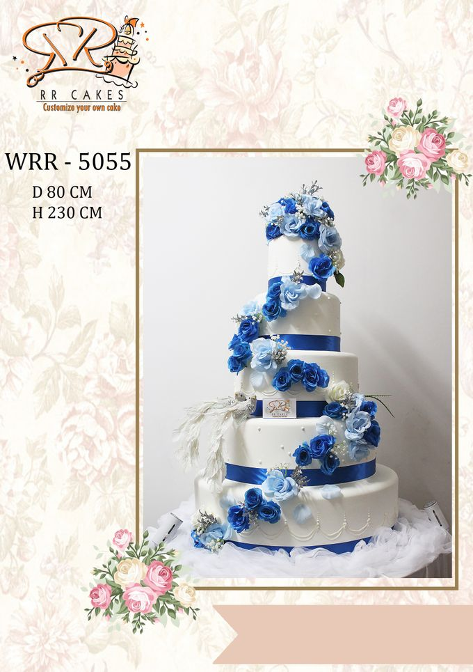 New Wedding Cake 2018 by RR CAKES - 013