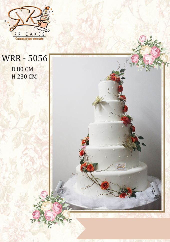 New Wedding Cake 2018 by RR CAKES - 014