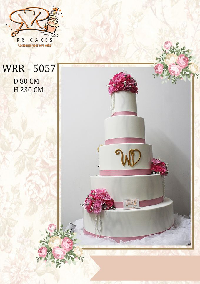 New Wedding Cake 2018 by RR CAKES - 015