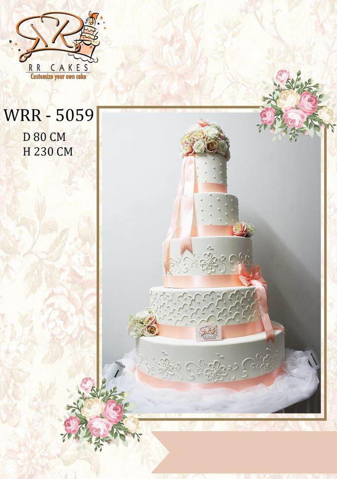 New Wedding Cake 2018 by RR CAKES - 017