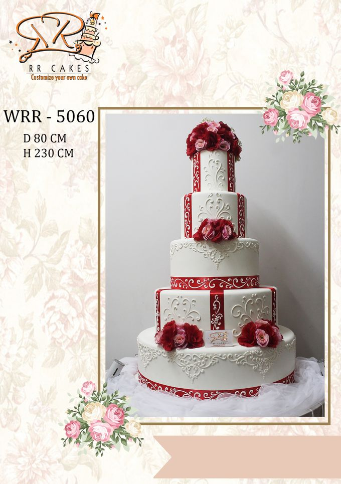 New Wedding Cake 2018 by RR CAKES - 018