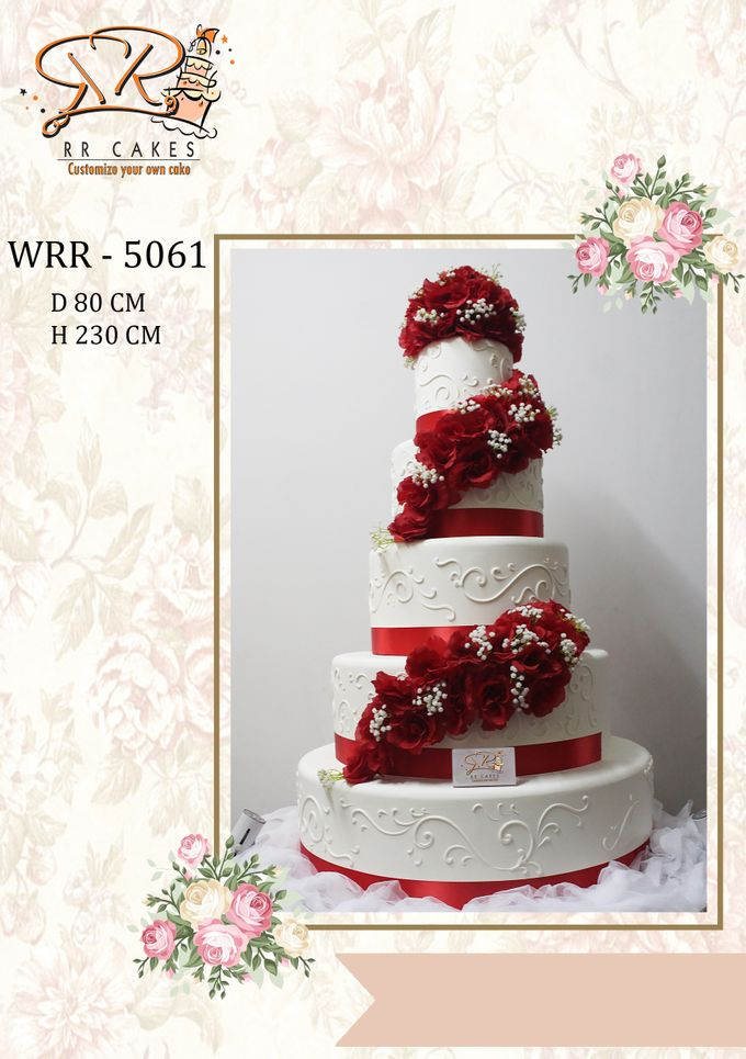 New Wedding Cake 2018 by RR CAKES - 019