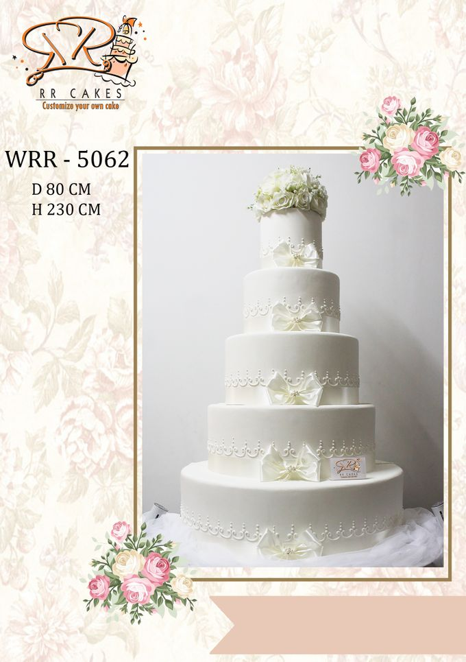 New Wedding Cake 2018 by RR CAKES - 020