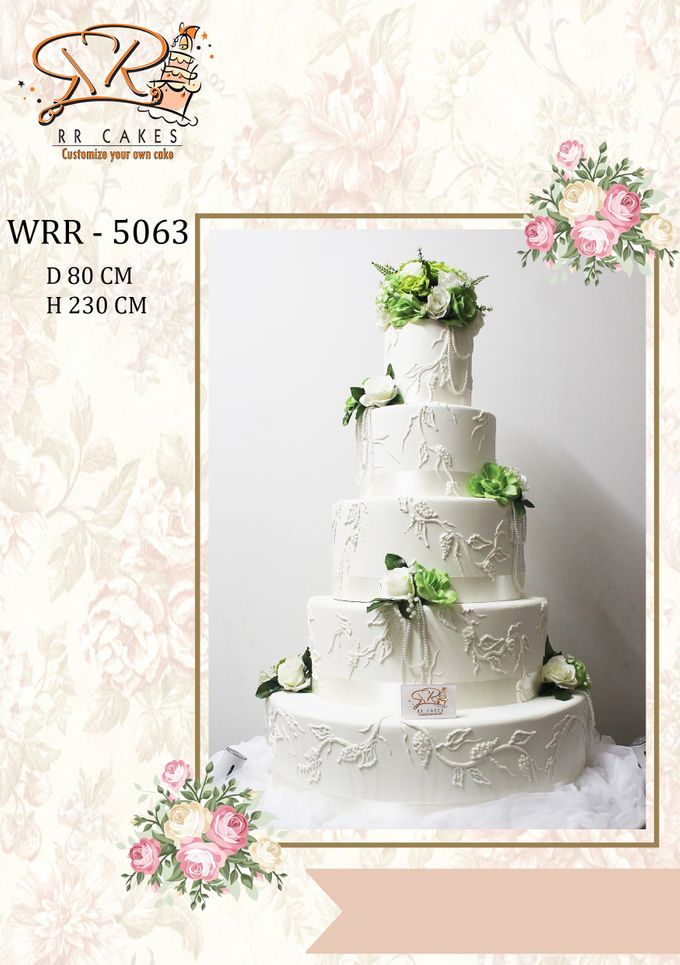 New Wedding Cake 2018 by RR CAKES - 021