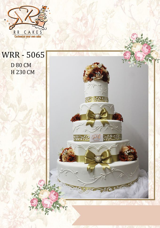 New Wedding Cake 2018 by RR CAKES - 024