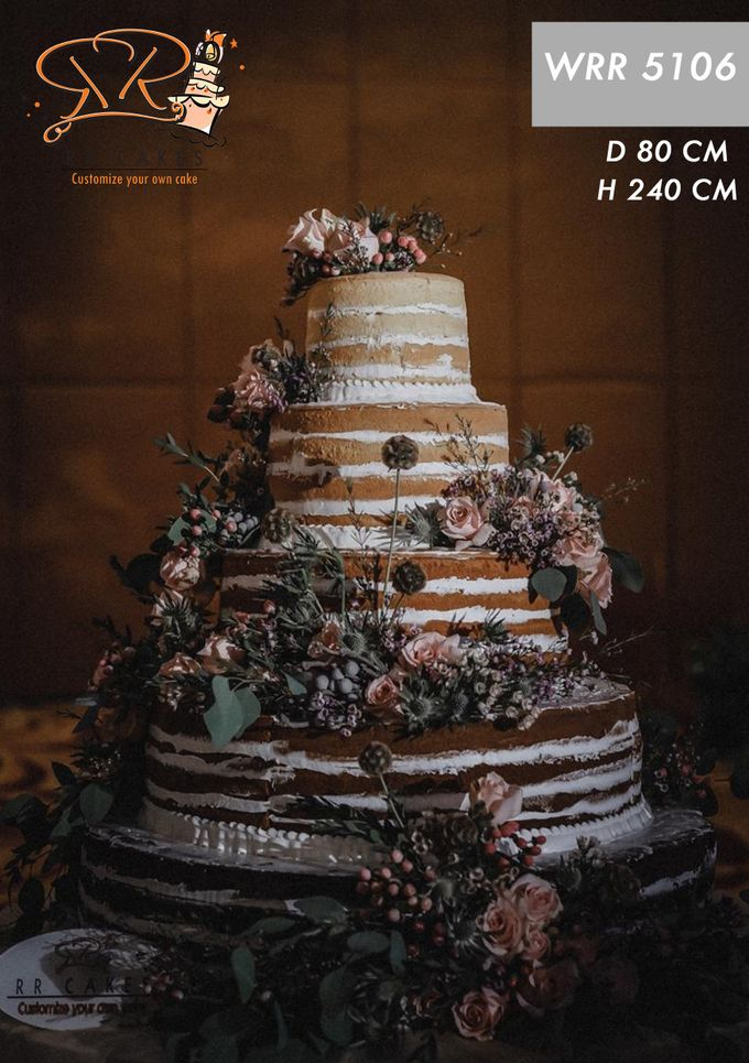 Weddingcake in 2019 - 5 tiers by RR CAKES - 009