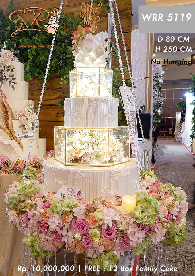Wedding Cake 5 tier by RR CAKES - 020
