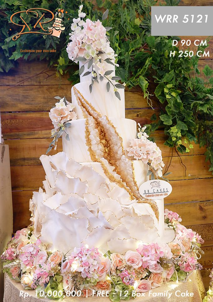 Wedding Cake 5 tier by RR CAKES - 014