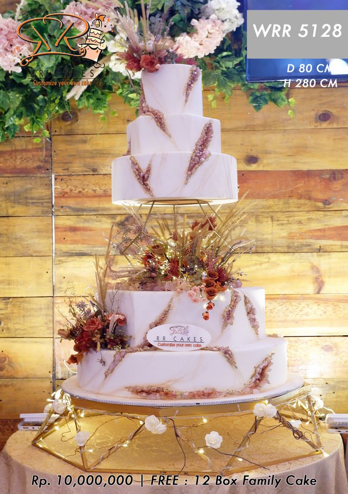 Wedding Cake 5 tier by RR CAKES - 018