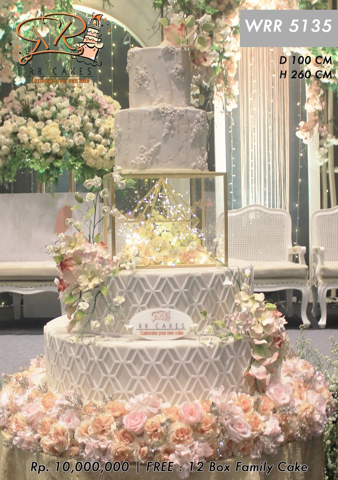 Wedding Cake 5 tier by RR CAKES - 012