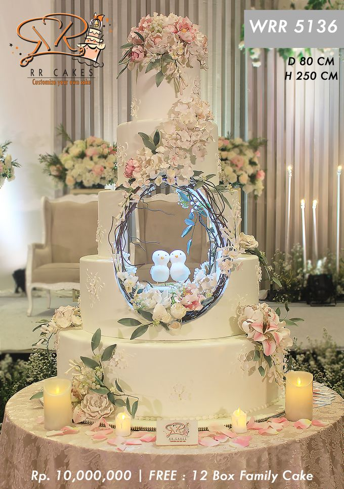 Wedding Cake 5 tier by RR CAKES - 016