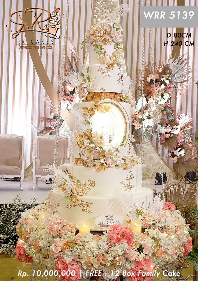 Wedding Cake 5 tier by RR CAKES - 023