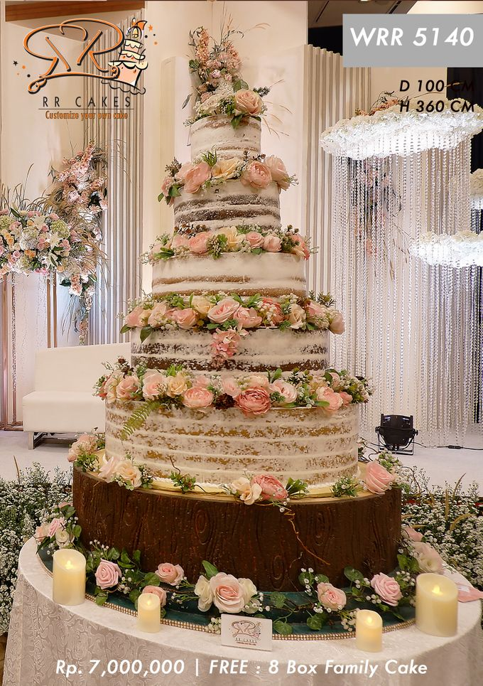 Wedding Cake 5 tier by RR CAKES - 022