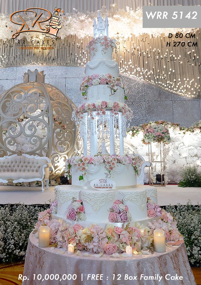 Wedding Cake 5 tier by RR CAKES - 024