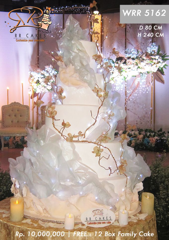 Wedding Cake 5 tier by RR CAKES - 011