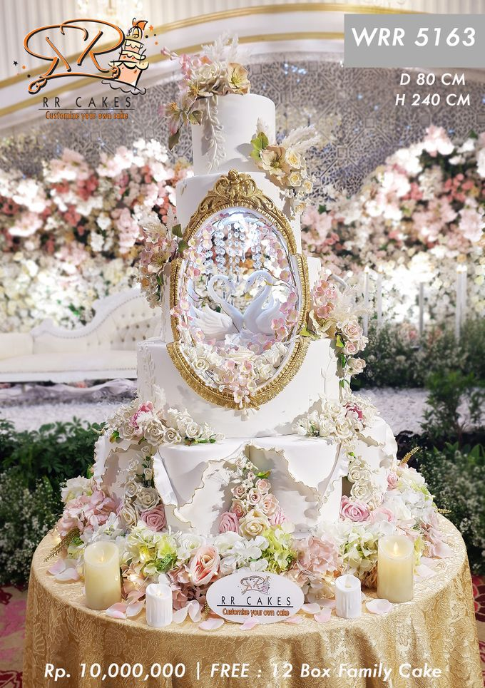 Wedding Cake 5 tier by RR CAKES - 013